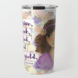 To Strive, To Seek, To Find, and Not to Yield Travel Mug