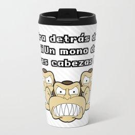 Ese mono de 3 cabezas Travel Mug