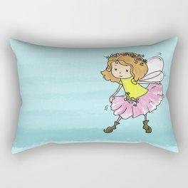 Sweet Little Pixie Curtsy  Rectangular Pillow