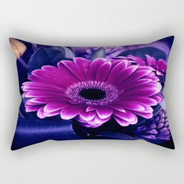 Gerber Floral Arrangement Rectangular Pillow