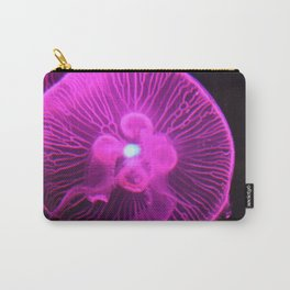 Glowing Magenta Jellyfish II Carry-All Pouch
