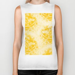 Yellow Peonies Dream #1 #floral #decor #art #society6 Biker Tank