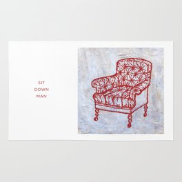 Red Chair Rug