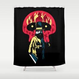 Monster Hunter Shower Curtain