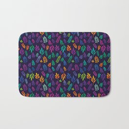 Colorful meadow with wildflowers and berries Bath Mat