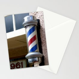 Barber Sign Stationery Cards