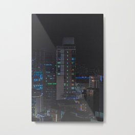 Tokyo feels : Ikebukuro sleeps 1 Metal Print