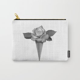 Rose Cream Carry-All Pouch