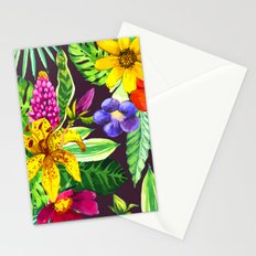 Tropic Flowers II Stationery Cards