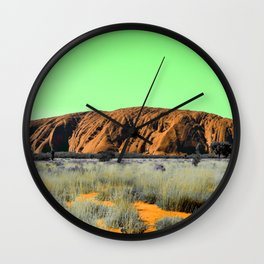 """Not So """"Red Center"""" Wall Clock"""