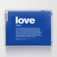 definition LLL - Love 6 Laptop & iPad Skin