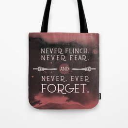 Nevernight - Never Forget Tote Bag