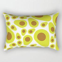 Avocado Heart Rectangular Pillow