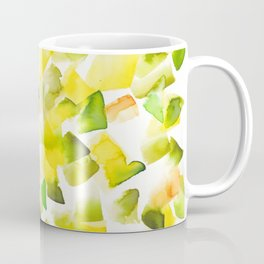 180719 Koh-I-Noor Watercolour Abstract 2 | Watercolor Brush Strokes Coffee Mug