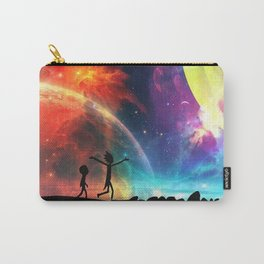Rick And Morti Nebula Carry-All Pouch