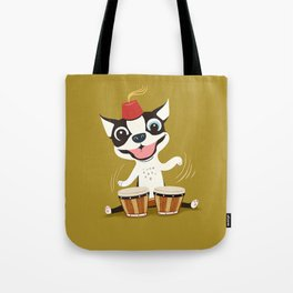 Boogie on Bongos Tote Bag