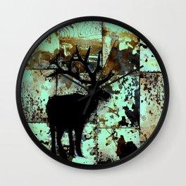 From Dusk Till Dawn : elk series Wall Clock