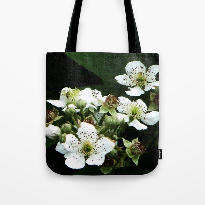 Fraises des bois Flowers Tote Bag