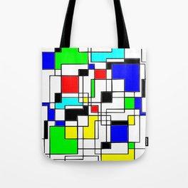 Homage to Piet Mondrian Tote Bag