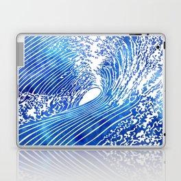 Blue Wave II Laptop & iPad Skin