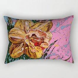 Barbara's flower Remix 1 Rectangular Pillow