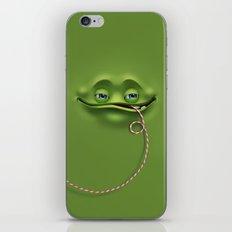 Joyful face iPhone & iPod Skin