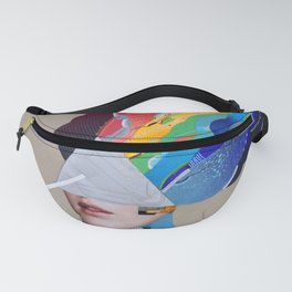 The Color Side Of The Moon Fanny Pack