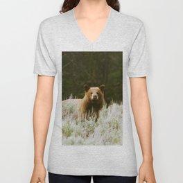 Bush Bear Unisex V-Neck