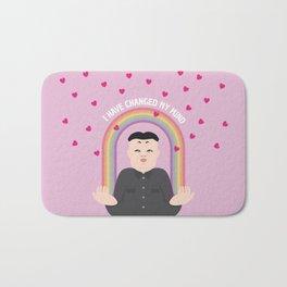 Kim Jong-un: Nobel Peace Prize 2015 Bath Mat