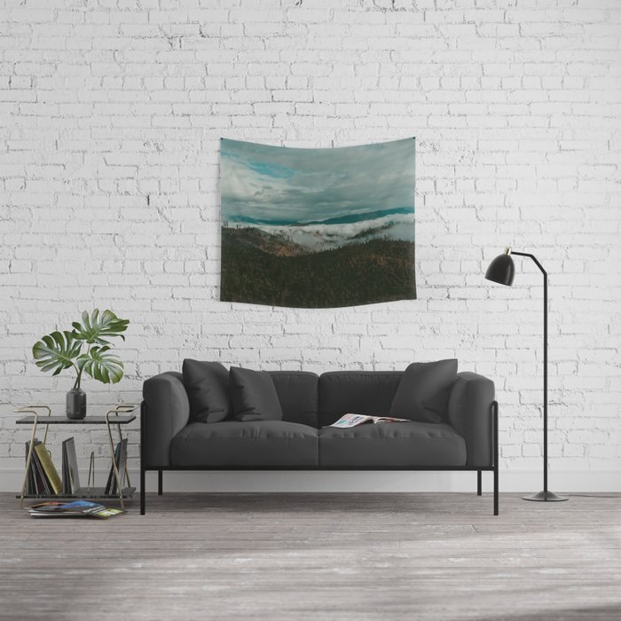 Autumn Wilderness Wall Tapestry