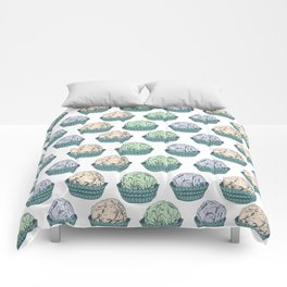 Candy chocolate truffles sketch Comforters