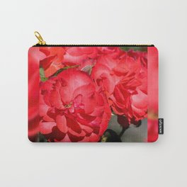 Flowerheads of red roses Carry-All Pouch
