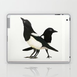 Two For Joy - Magpie Pair Laptop & iPad Skin