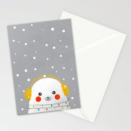 Christmas Baby Seal Stationery Cards