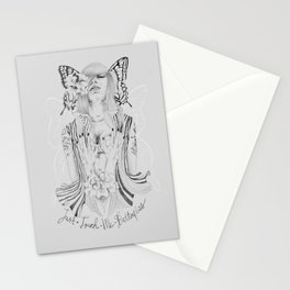 Touch Me Butterfly Stationery Cards