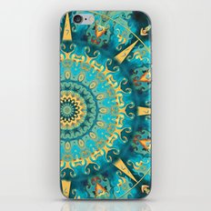 Caribbean Gold Mandala iPhone & iPod Skin