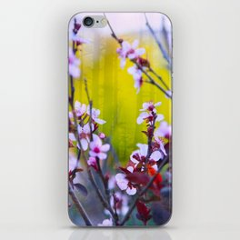 """The Mind Replays What the Heart Can't Delete"" iPhone Skin"