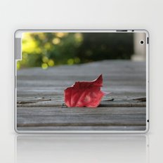 Red Leaf Laptop & iPad Skin