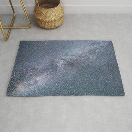 Milky Way Starry Night Rug