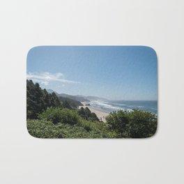Californian Coastline Bath Mat