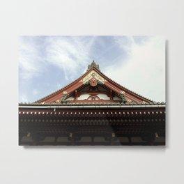 Asakusa Tokyo Japan Metal Print
