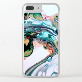 Abstract 13 Clear iPhone Case