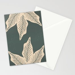 Surrounded by Plant Lovers - Green & Beige Stationery Cards