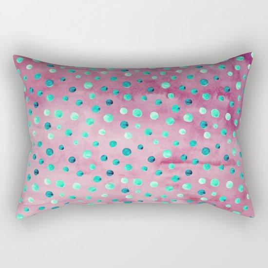 Polka Dot Pattern 08 Rectangular Pillow