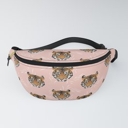 Be Brave Tiger Pink Fanny Pack