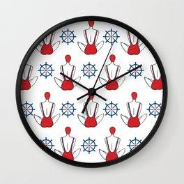 swim 2 Wall Clock