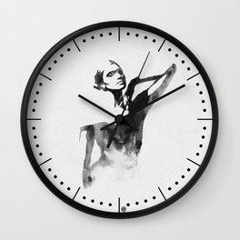 Figurine (Ink Painting) Wall Clock