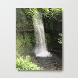 Ireland Waterfall Metal Print