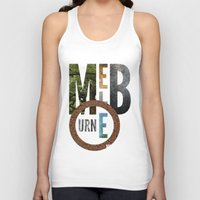 melbourne Tank Tops featuring Melbourne by Virbia