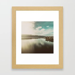 Columbia Hills Framed Art Print